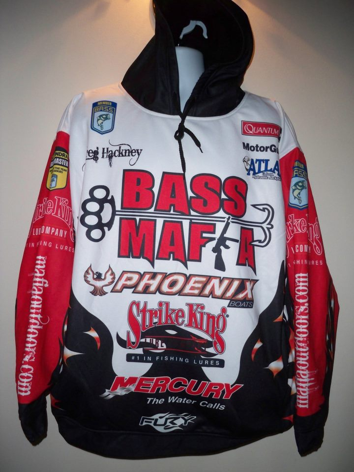 Hooked fishing for Bass fishing hoodies